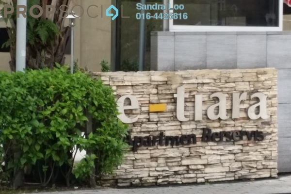 For Rent Serviced Residence at e-Tiara, Subang Jaya Freehold Fully Furnished 2R/2B 2.4k