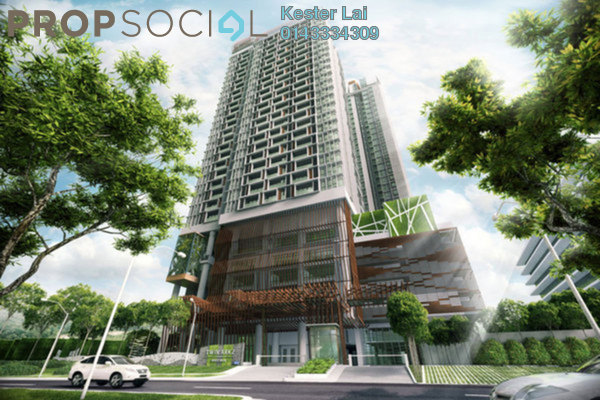 For Rent Condominium at Twin Arkz, Bukit Jalil Freehold Fully Furnished 3R/2B 3.1k