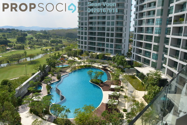 For Rent Condominium at Tropicana Grande, Tropicana Freehold Fully Furnished 4R/4B 6k