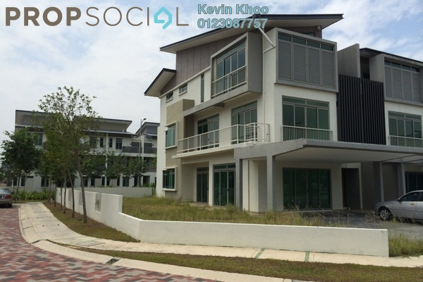 For Sale Terrace at D'Island, Puchong Freehold Unfurnished 6R/5B 1.9m