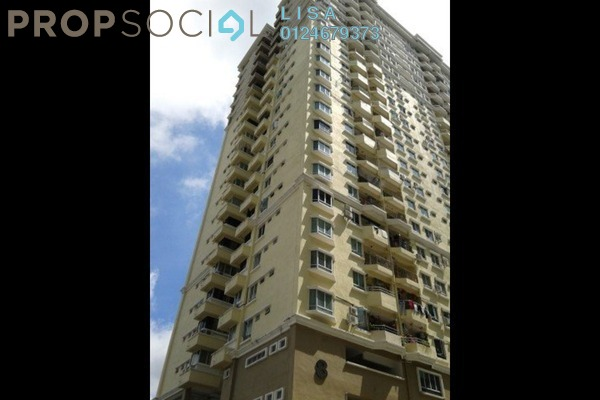 For Sale Apartment at D'Piazza Condominium, Bayan Baru Leasehold Unfurnished 3R/2B 410.0千