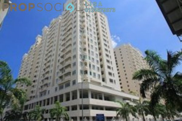 For Rent Condominium at D'Piazza Condominium, Bayan Baru Freehold Fully Furnished 3R/2B 1.6k