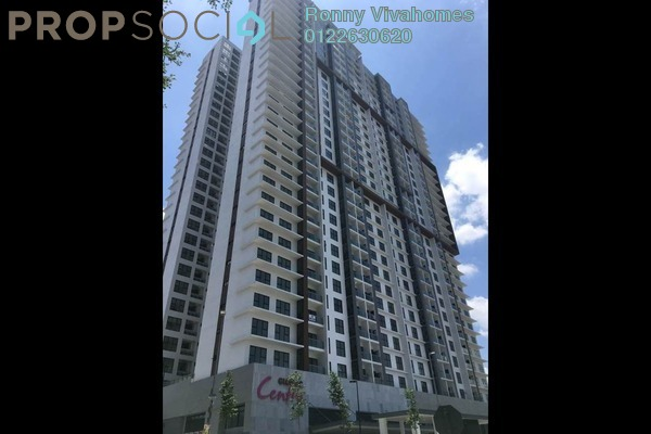 For Sale Condominium at Glomac Centro, Bandar Utama Leasehold Semi Furnished 4R/3B 980k