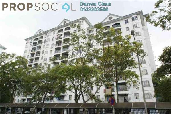 For Rent Apartment at Tasik Heights Apartment, Bandar Tasik Selatan Leasehold Unfurnished 3R/2B 1.2k