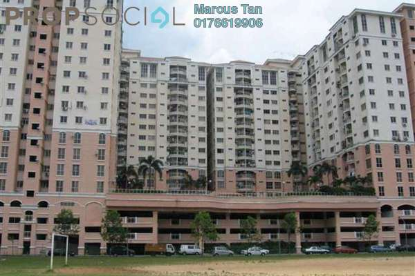 For Sale Apartment at Taman Wangsa Permai, Kepong Freehold Unfurnished 3R/2B 188k
