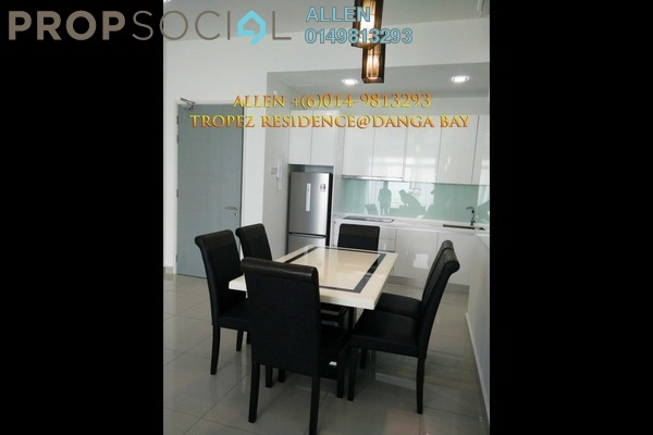 For Rent Serviced Residence at Tropez Residences, Danga Bay Freehold Fully Furnished 2R/2B 2.5k