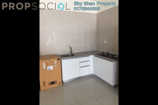For Rent SoHo/Studio at Flexis @ One South, Seri Kembangan Freehold Semi Furnished 1R/1B 1.1k