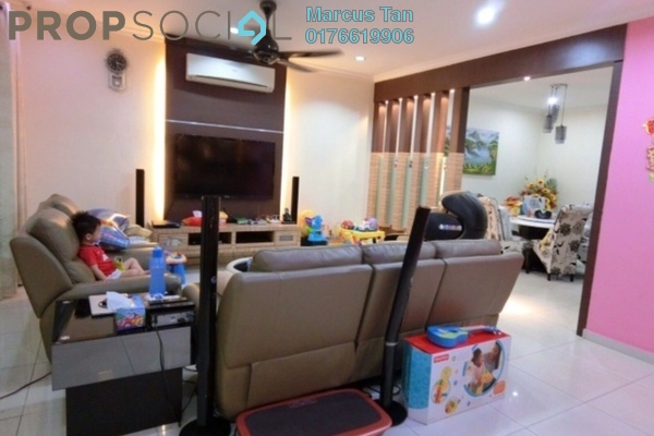 For Sale Terrace at Fadason Park, Jinjang Freehold Fully Furnished 4R/3B 1.3百万