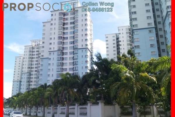 For Sale Condominium at Desa Impiana, Puchong Freehold Semi Furnished 3R/2B 420k
