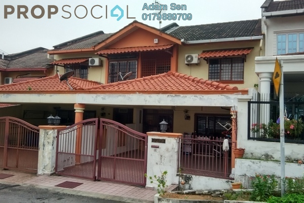 For Sale Terrace at Midah Ria, Cheras Freehold Semi Furnished 3R/3B 930k