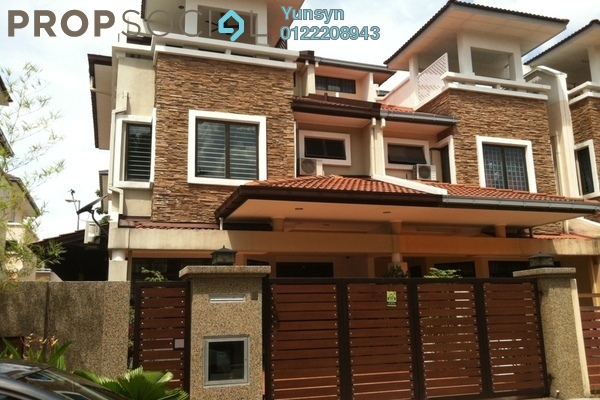 For Rent Terrace at BU6, Bandar Utama Freehold Fully Furnished 4R/4B 3.6k