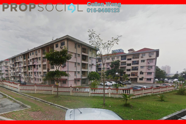 For Sale Apartment at Taman Bukit Serdang, Seri Kembangan Freehold Unfurnished 3R/2B 315k