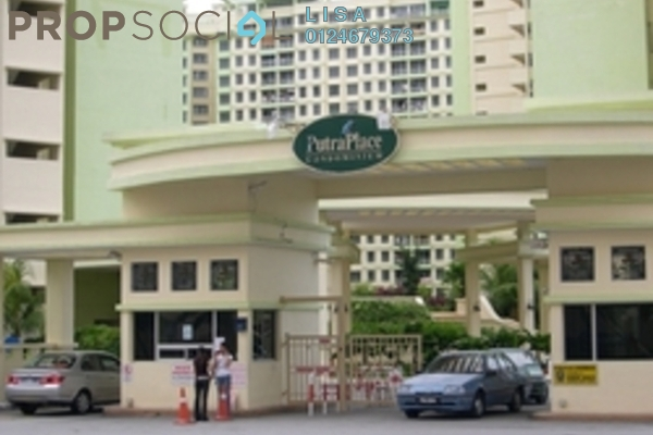 For Rent Condominium at Putra Place, Bayan Indah Freehold Fully Furnished 3R/2B 1.9k