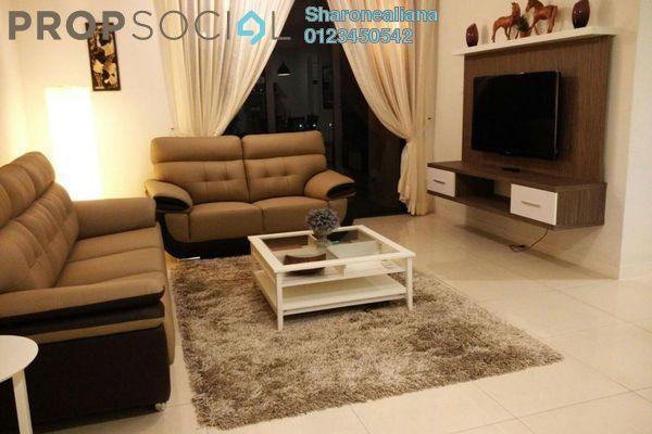 For Rent Condominium at Verdana, Dutamas Freehold Fully Furnished 3R/3B 3.5k