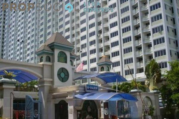 For Rent Condominium at N-Park, Batu Uban Freehold Fully Furnished 3R/2B 1.2k