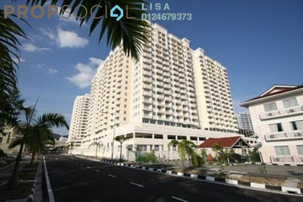 For Sale Condominium at D'Piazza Condominium, Bayan Baru Freehold Fully Furnished 4R/2B 788.0千