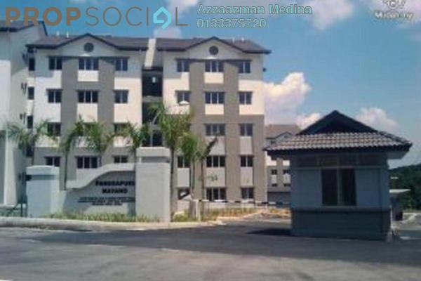 For Sale Apartment at Mayang Apartment, Bandar Putra Permai Leasehold Semi Furnished 3R/2B 350k