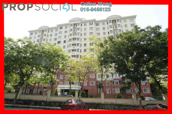 For Sale Apartment at D'Kiara Apartment, Pusat Bandar Puchong Freehold Semi Furnished 3R/2B 390k
