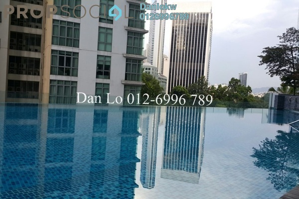 For Rent Condominium at Panorama, KLCC Freehold Fully Furnished 1R/0B 3.5k