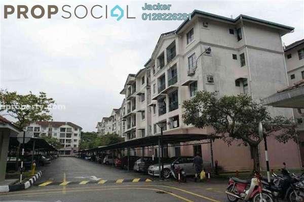 For Rent Apartment at SD Apartments, Bandar Sri Damansara Freehold Semi Furnished 3R/2B 1.1k