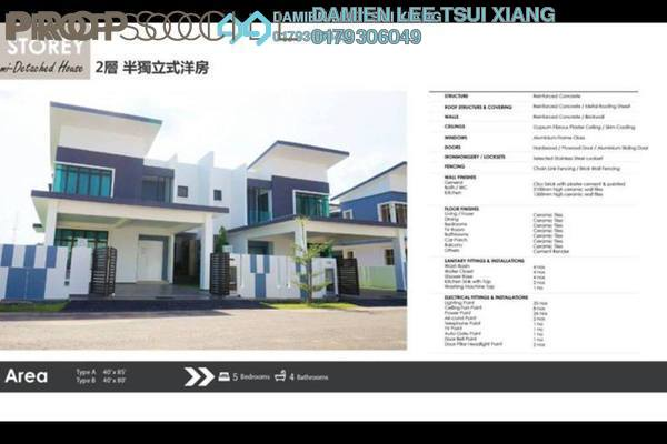 For Sale Terrace at Taman Ozana Residence, Melaka Freehold Unfurnished 5R/4B 609k