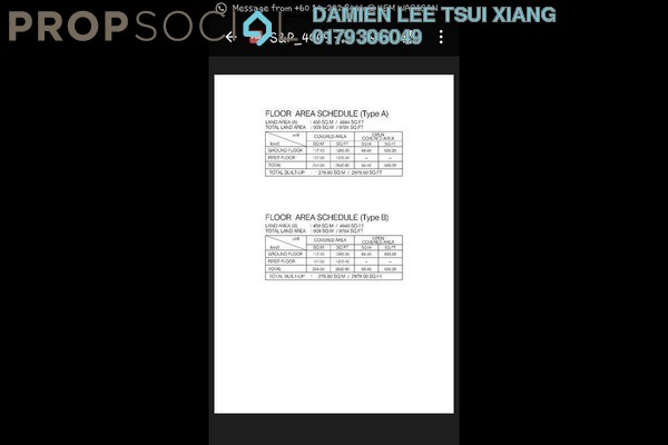 For Sale Semi-Detached at Taman Seri Bayan, Melaka  Unfurnished 5R/4B 768k