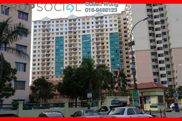 For Sale Condominium at Vista Pinggiran, Bandar Putra Permai Leasehold Semi Furnished 3R/2B 265k
