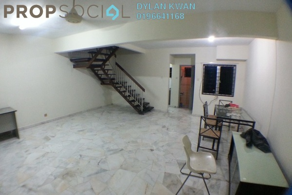 For Rent Terrace at USJ 2, UEP Subang Jaya Freehold Semi Furnished 3R/2B 1.75k