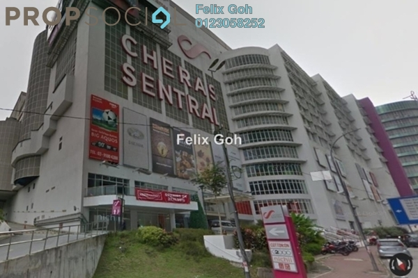 For Rent Shop at Cheras Sentral, Cheras Freehold Semi Furnished 0R/0B 2.4k
