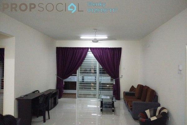 For Sale Condominium at Platinum Hill PV2, Setapak Freehold Semi Furnished 4R/2B 670k