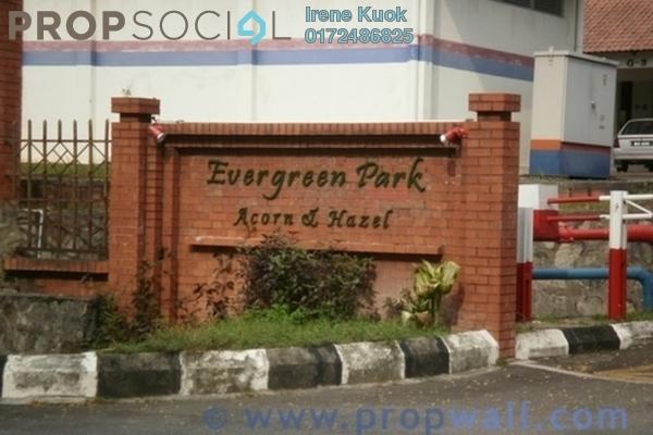 For Rent Condominium at Evergreen Park, Bandar Sungai Long Freehold Semi Furnished 3R/2B 1.2k