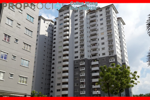 For Sale Apartment at Endah Ria, Sri Petaling Leasehold Unfurnished 3R/2B 390k