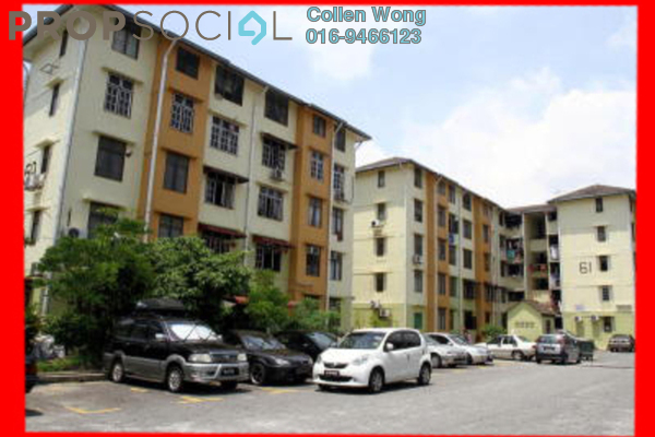 For Sale Condominium at Taman Sri Sentosa, Old Klang Road Leasehold Unfurnished 3R/2B 135k