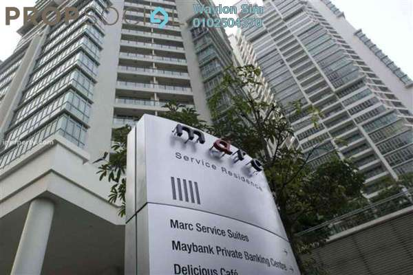 For Rent Condominium at Marc Service Residence, KLCC Freehold Fully Furnished 1R/1B 3.3k