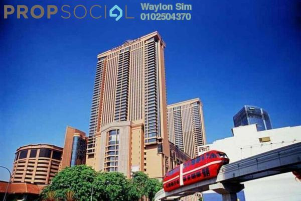 For Rent Condominium at Berjaya Times Square, Bukit Bintang Freehold Fully Furnished 1R/1B 3k