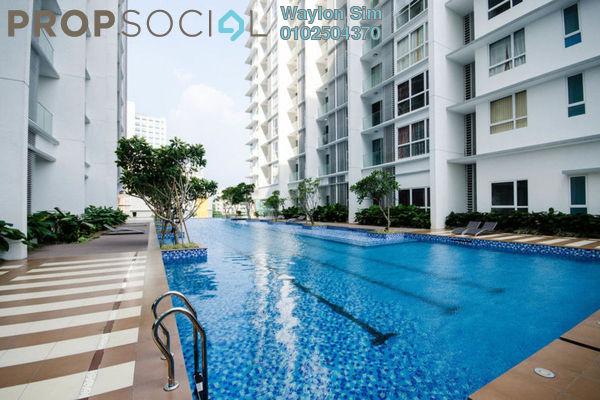 For Rent Condominium at M Suites, Ampang Hilir Freehold Fully Furnished 2R/2B 3.8k
