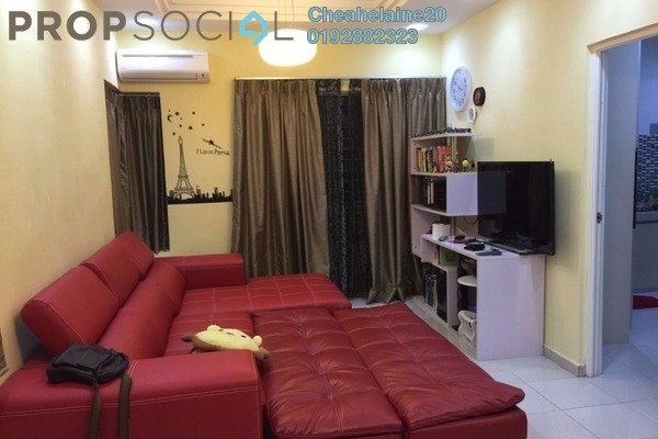 For Rent Townhouse at Amansiara, Selayang Leasehold Semi Furnished 3R/2B 1.5k