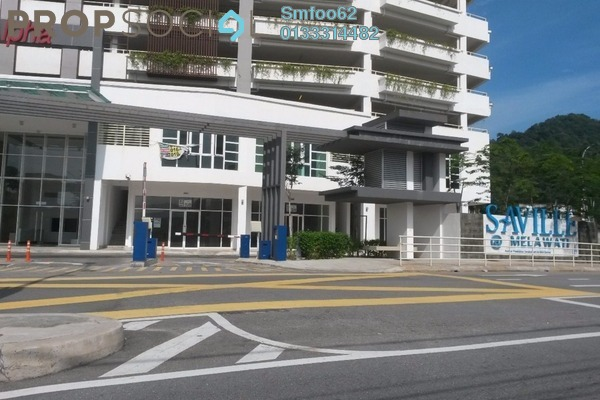For Sale Condominium at Saville, Melawati Freehold Semi Furnished 3R/2B 535k