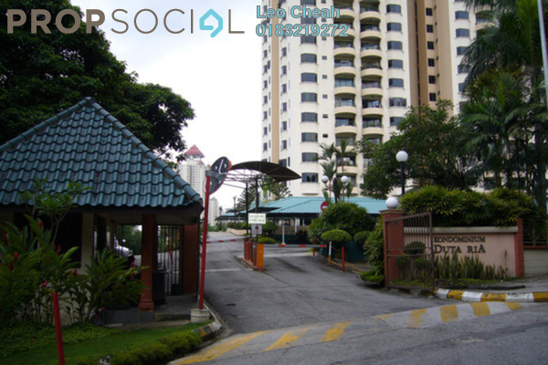 For Rent Condominium at Duta Ria, Dutamas Freehold Semi Furnished 3R/2B 1.8k