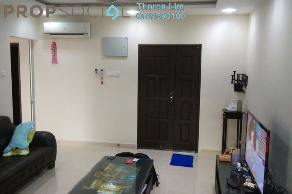 For Sale Condominium at Ixora Heights, Sungai Nibong Freehold Semi Furnished 3R/2B 570k