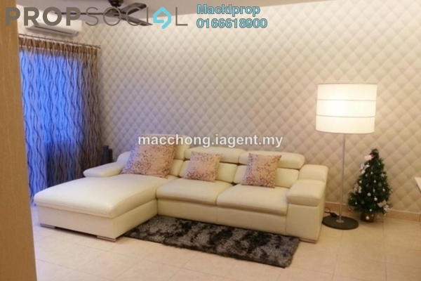 For Sale Condominium at Changkat View, Dutamas Freehold Semi Furnished 3R/2B 680k