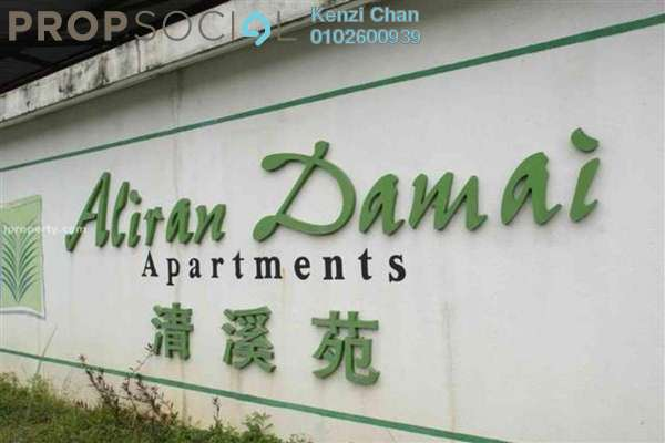 For Sale Condominium at Aliran Damai, Cheras South Freehold Semi Furnished 3R/2B 375k