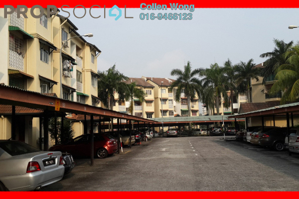 For Rent Apartment at Seri Kasturi, Bandar Kinrara Freehold Semi Furnished 3R/2B 1.4k