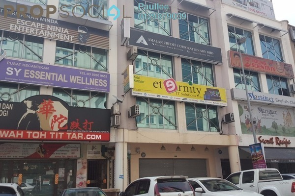 For Rent Office at Puteri 6, Bandar Puteri Puchong Freehold Semi Furnished 3R/2B 3k