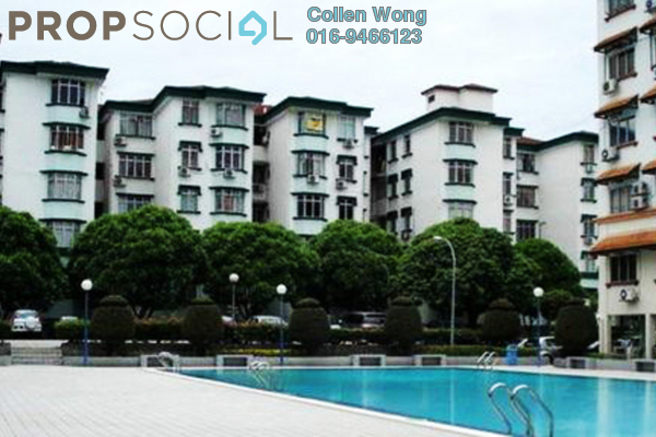For Rent Condominium at Goodyear Court 10, UEP Subang Jaya Freehold Unfurnished 3R/2B 1.2k