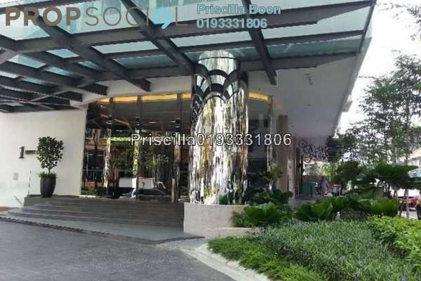 For Rent SoHo/Studio at One Residency, Bukit Ceylon Freehold Fully Furnished 0R/1B 2.3k