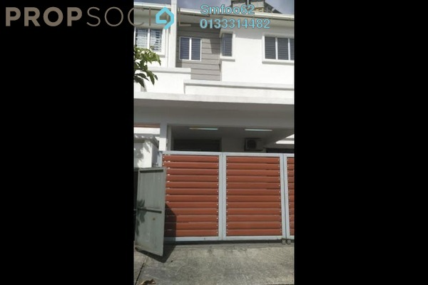 For Sale Terrace at Taman Sri Rampai, Setapak Leasehold Semi Furnished 5R/4B 1.2m