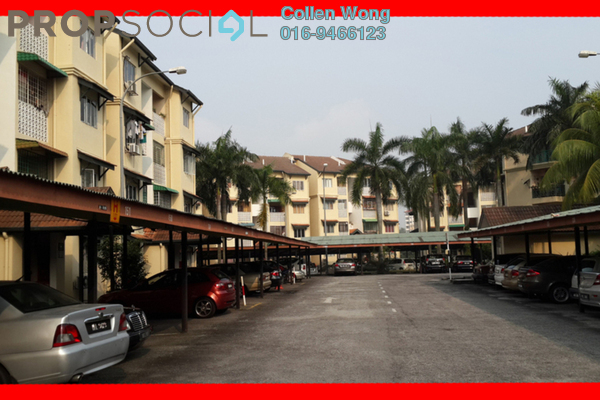 For Rent Apartment at Seri Kasturi, Bandar Kinrara Freehold Unfurnished 3R/2B 1.15k