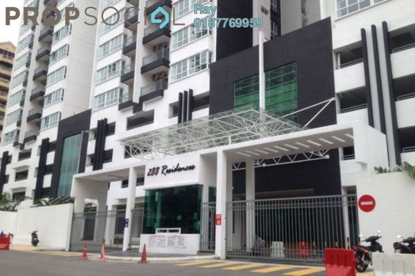 For Rent Condominium at 288 Residences, Kuchai Lama Freehold Fully Furnished 3R/3B 2.4k
