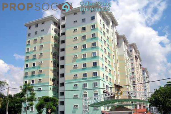 For Rent Condominium at Vista Prima, Puchong Leasehold Unfurnished 3R/2B 1.2k